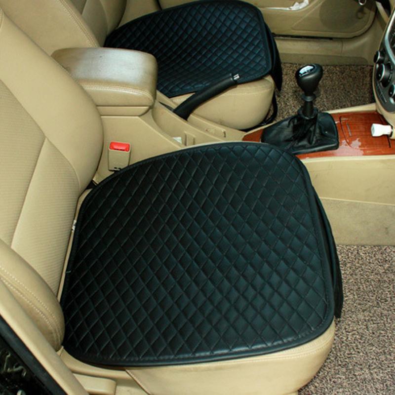 2x auto sitzauflage sitzbez ge sitzkissen sitzmatte pu. Black Bedroom Furniture Sets. Home Design Ideas