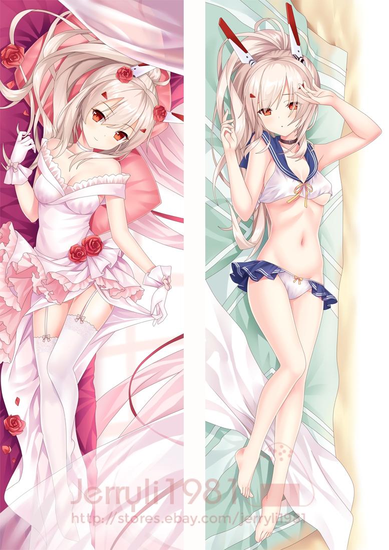 "150x50 Azur Lane Anime Girl Dakimakura pillowCase Long Body cover 59/"" Ayanami"