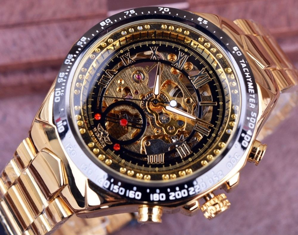 gift watch men luxury sport box golden mens skeleton winner itm watches automatic x
