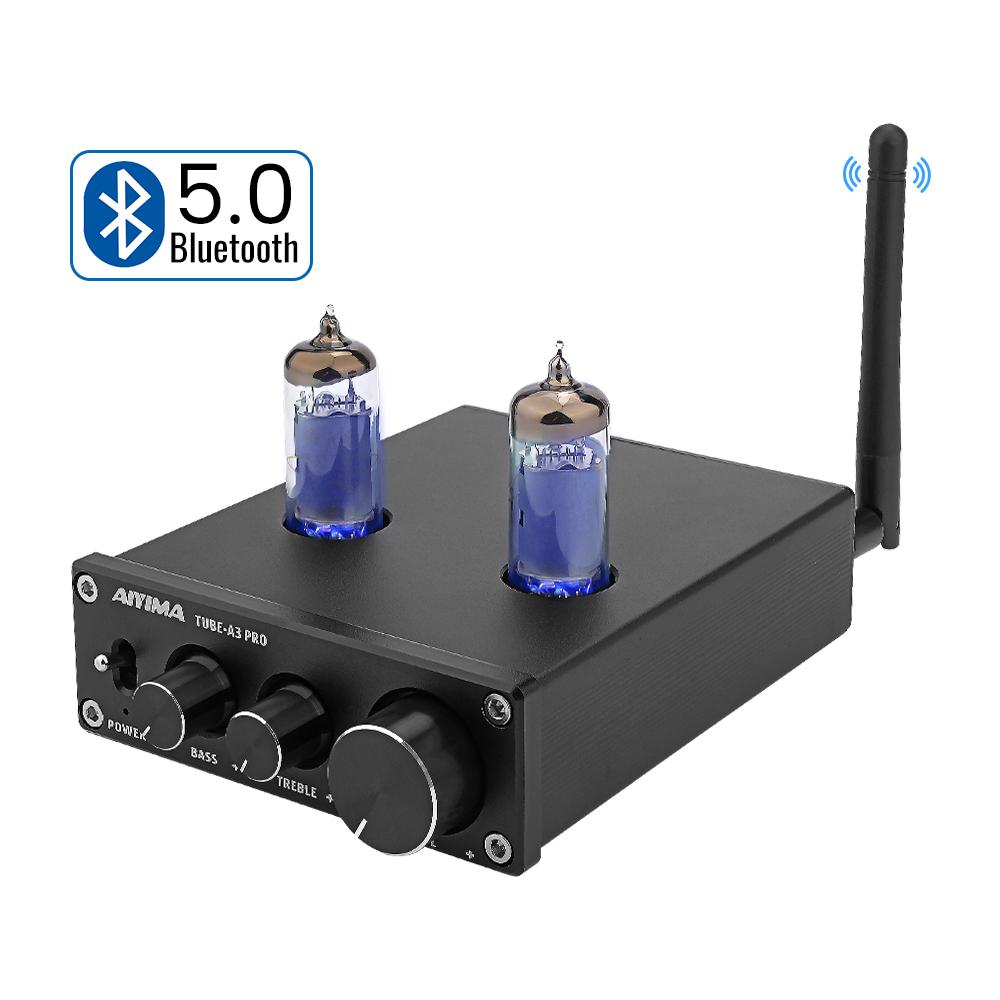 Bluetooth 5.0 6K4 Valve Tube Preamplifier Amplifier HIFI ...