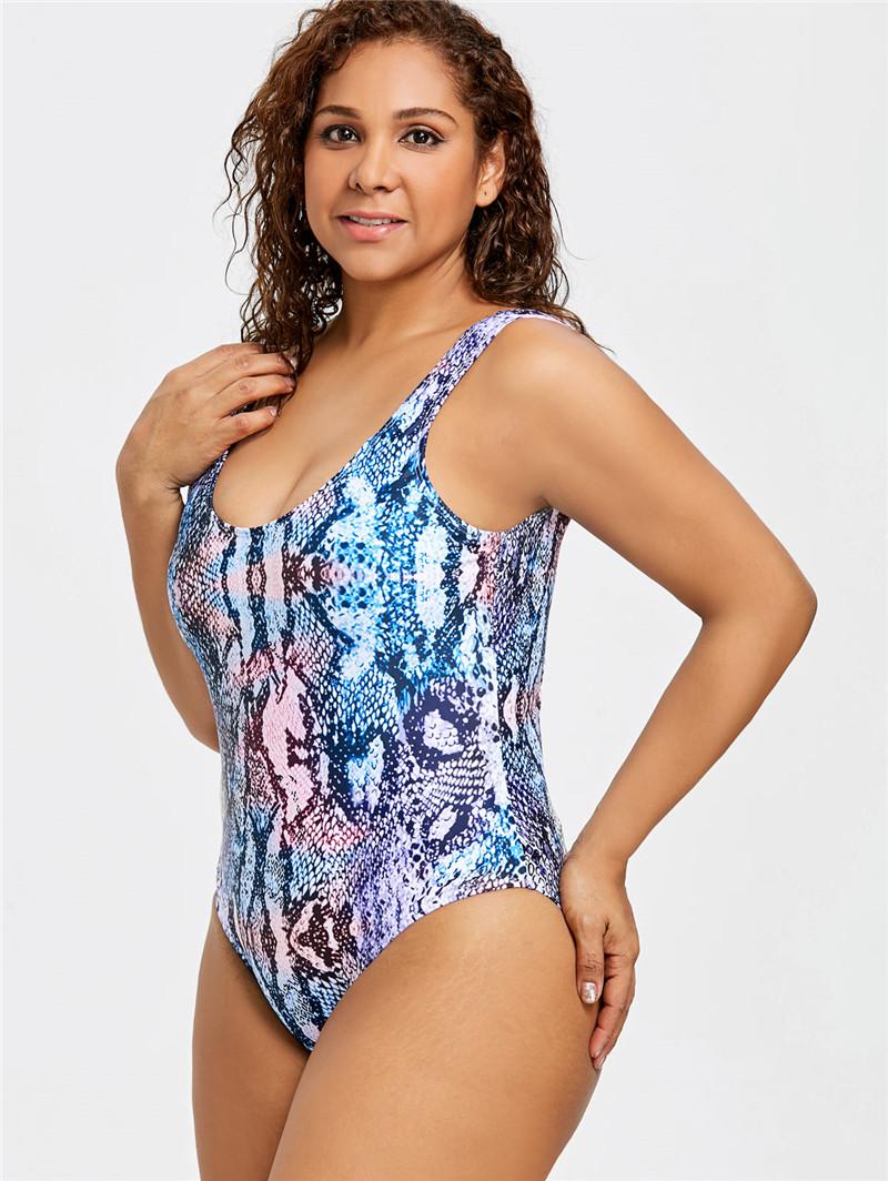 27c45d252ab3b Details about New Women s Swimsuit One Piece Plus Size Swimwear Beach Wear  Bikini Monokini UK