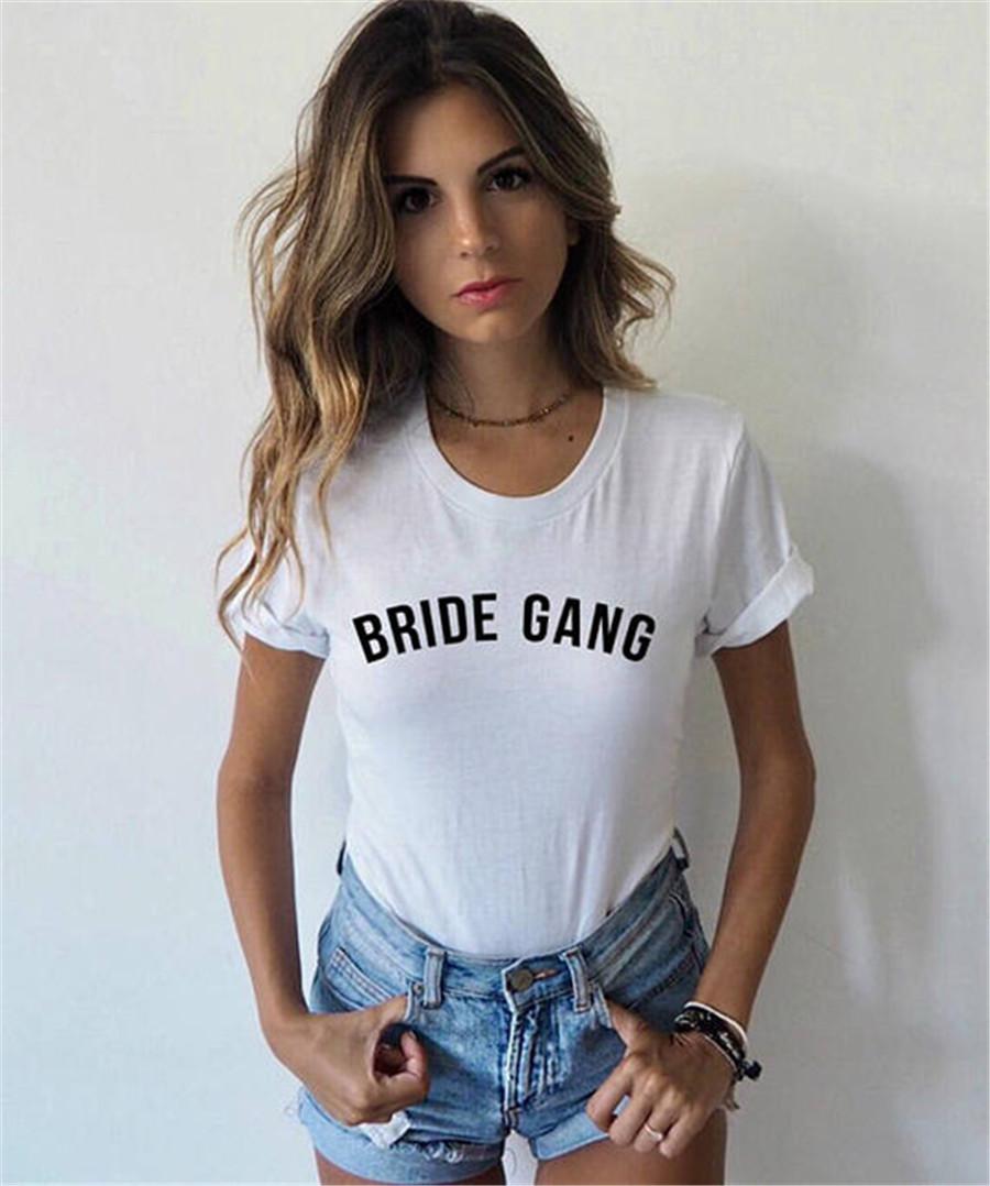 Bride Gang T Shirt Bride Tribe Tee Girl Gang Tumblr Shirt Tops