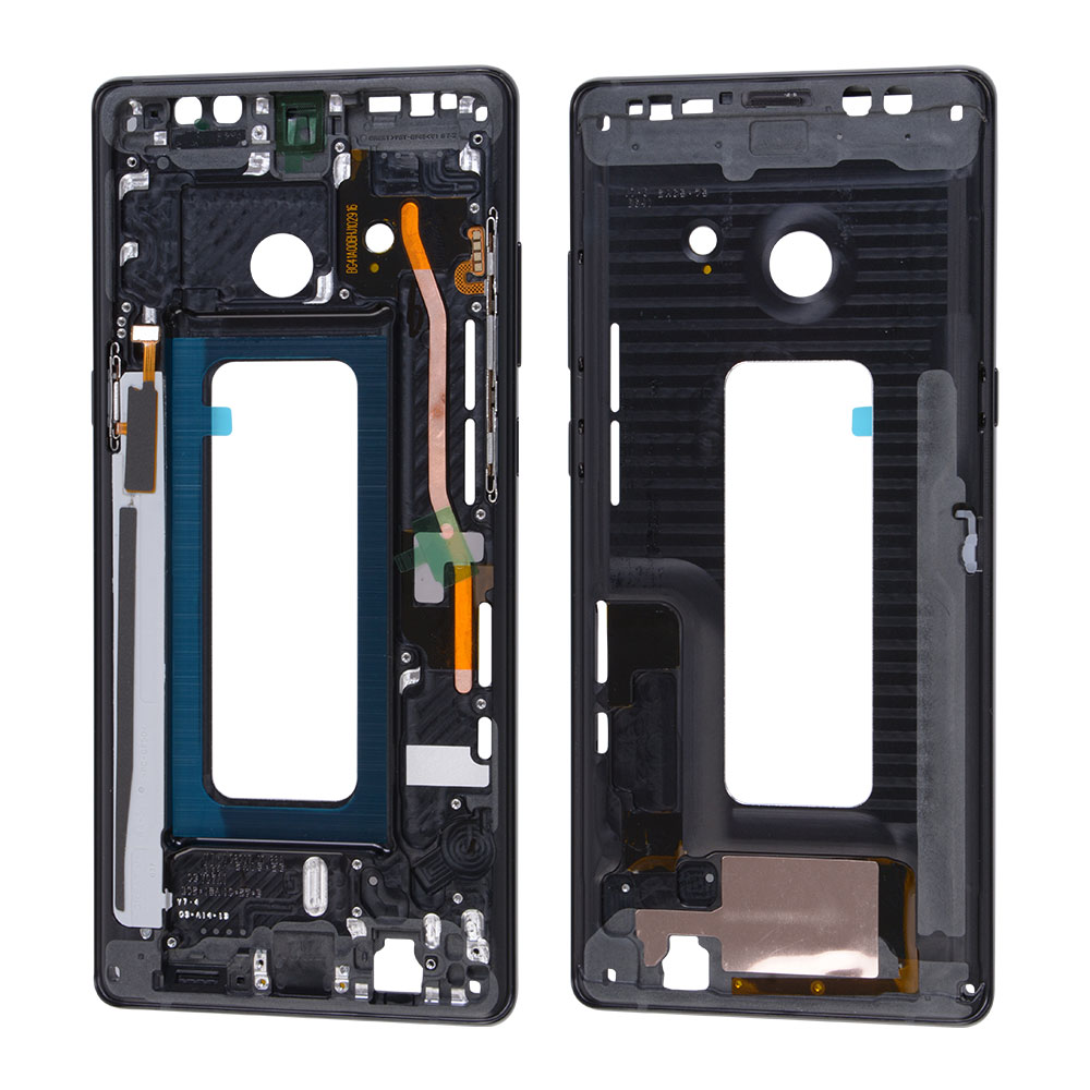ca993b4aa4c1 Front Housing LCD Frame Bezel Plate + 3M Sticker For Samsung Galaxy Note 8  OEM