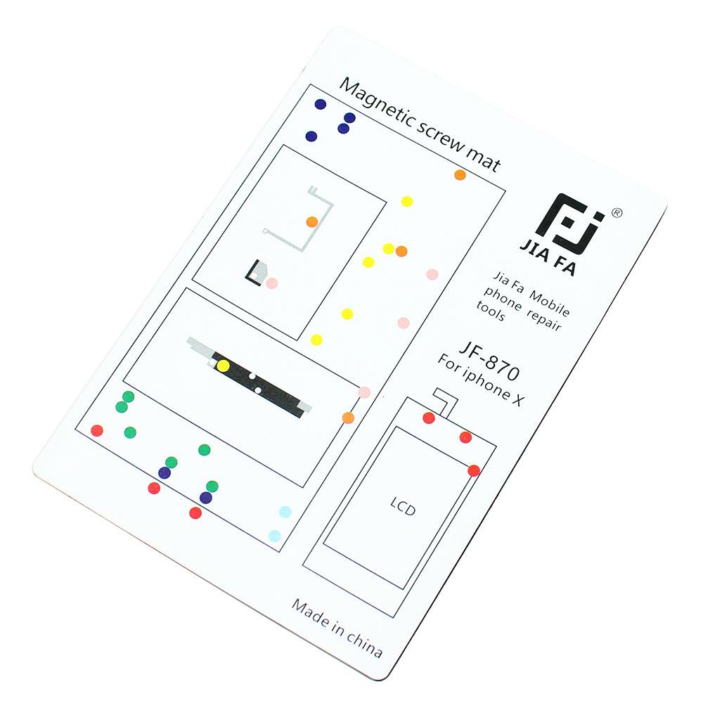 repair tools pad magnetic screw keeper chart mat for
