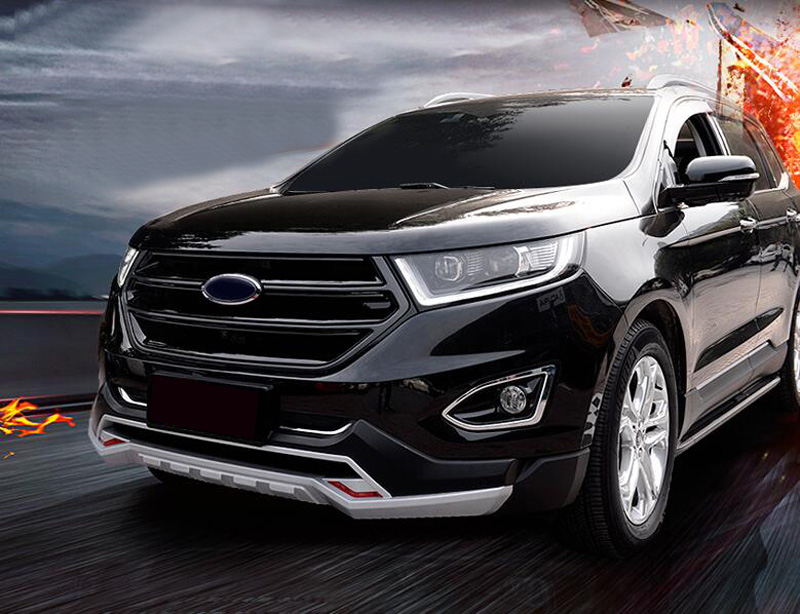 Black front grill grille sport version no camera hole for ford edge 2015 2017 ebay - Grille indiciaire 2015 categorie c ...