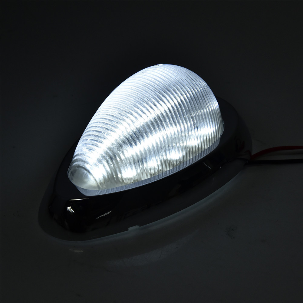 4x Clear  White 6 U0026quot  15 Led Side Marker Turn Signal Light For Freightliner Century