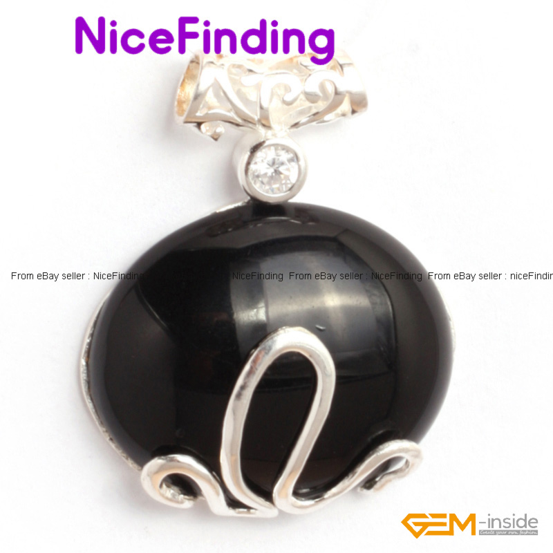 Charms Necklace Pendant + Free Chain Silver Plated Fashion Women Jewelry Gift