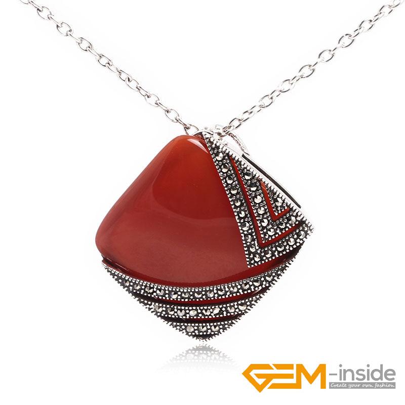 30x55mm Teardrop Gemstone Pendant Charm Charkra Beads Fashion Jewelry For Women