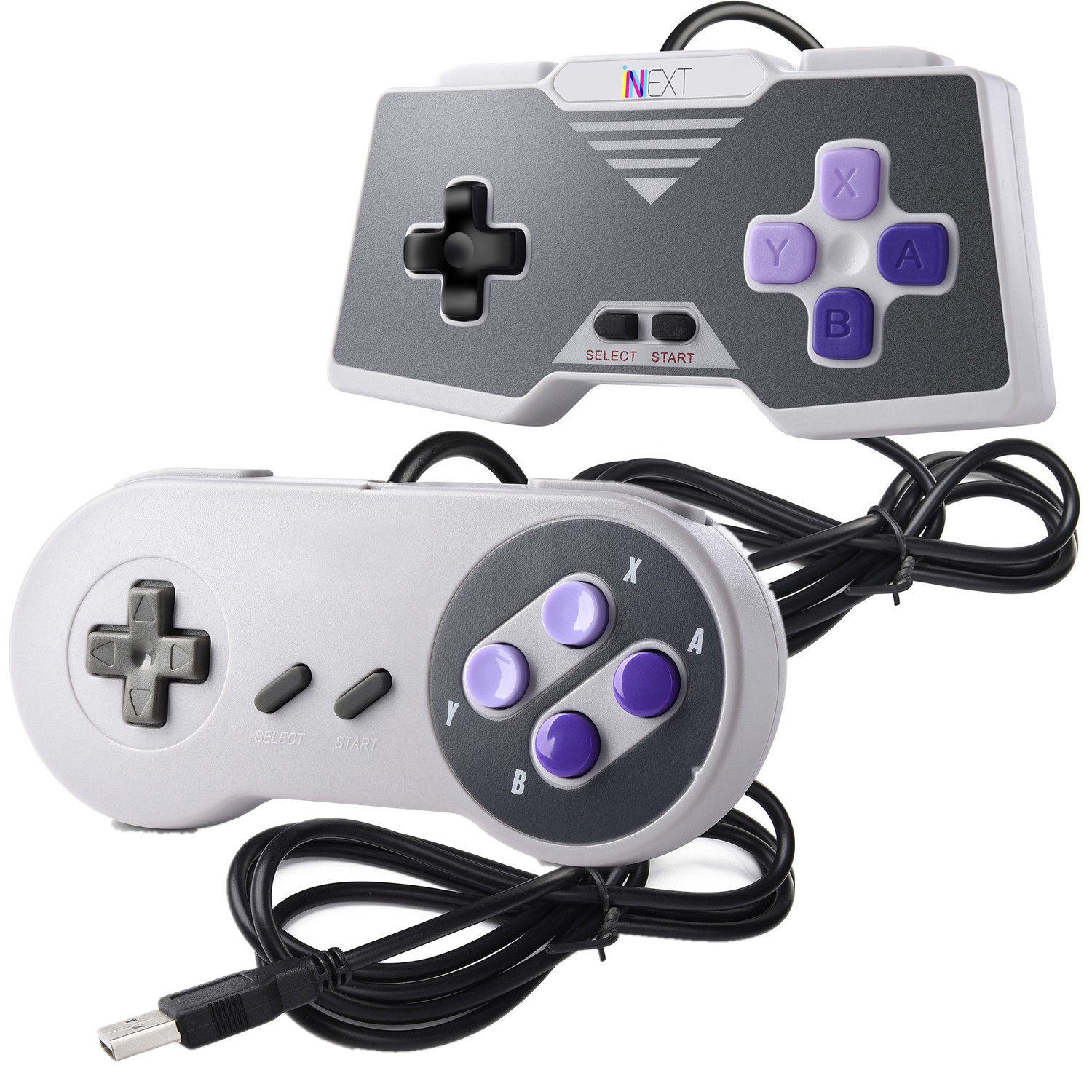 Details about USB Retro Super Controller For Classic SF SNES PC Windows Mac  Game Accessories