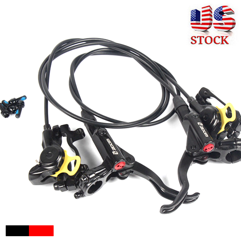 ZOOM MTB Bicycle HB875 Hydraulic Disc Brakes Mountain Bike Levers Front&Rear UK