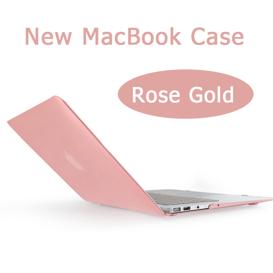 Rose gold macbook case keyboard cover screen skin for air for Chambre a air 13 5 00 6