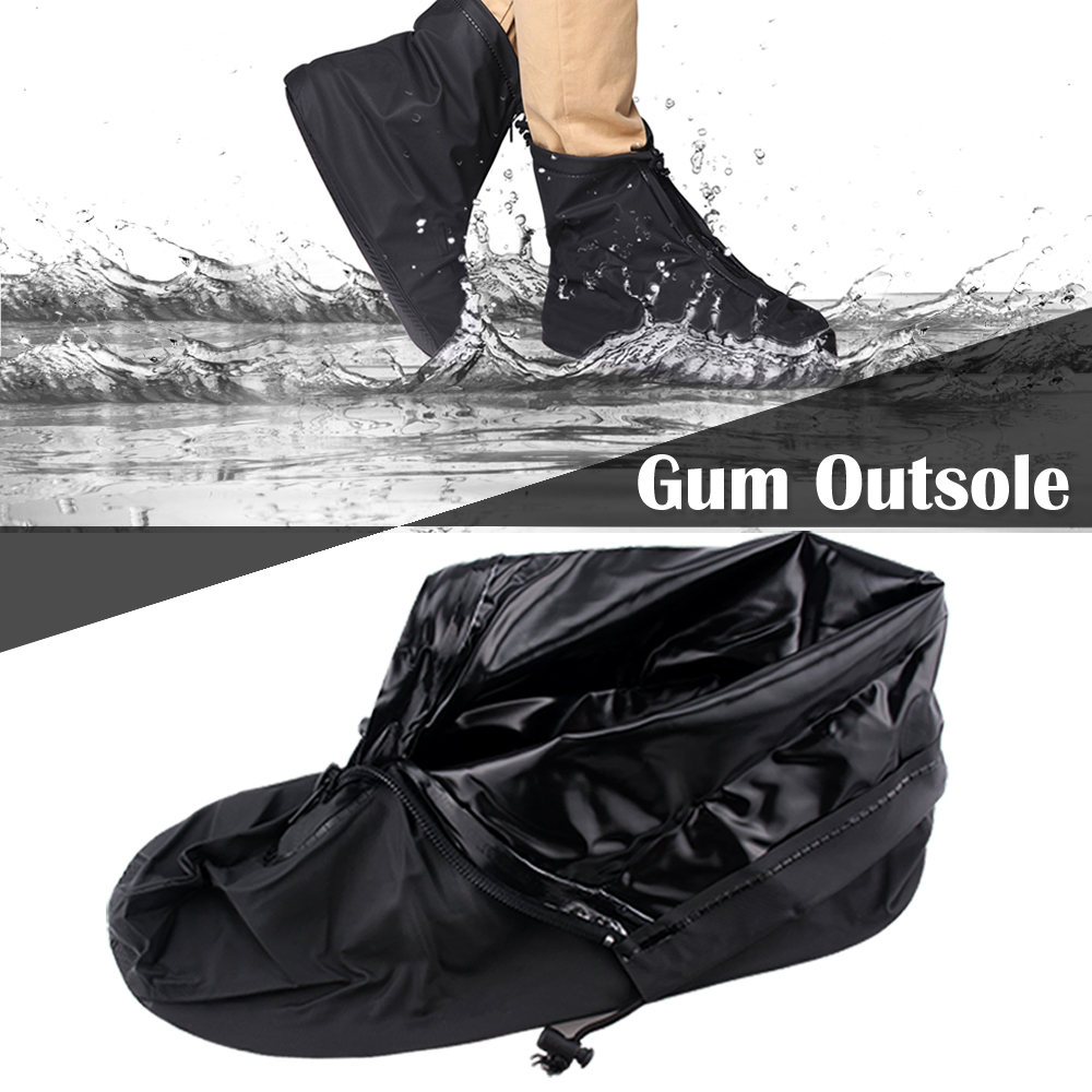 Waterproof Rain Snow Shoe Covers Overshoes Non-slip Boot Protector Reusable