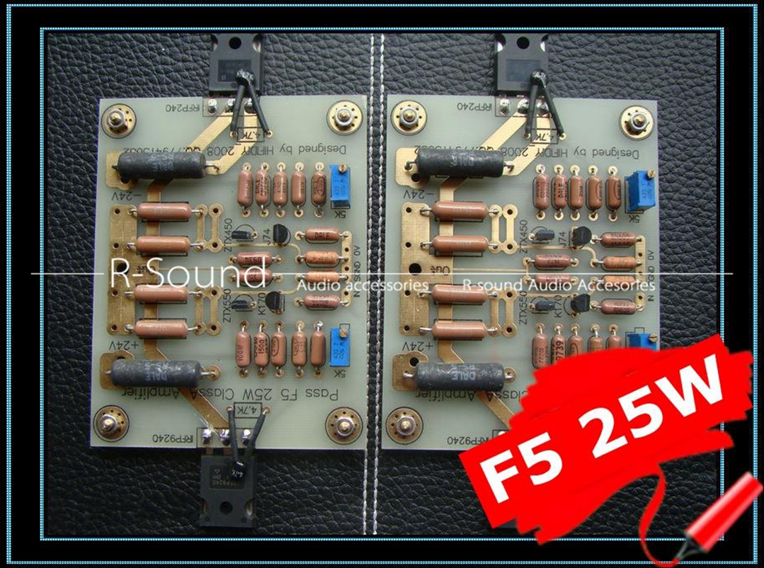1pc Pass F5 Pure Class A 25w Hifi Power Amplifier Board Diy Kit Per How To Build Symmetrical Preamplifier Channel