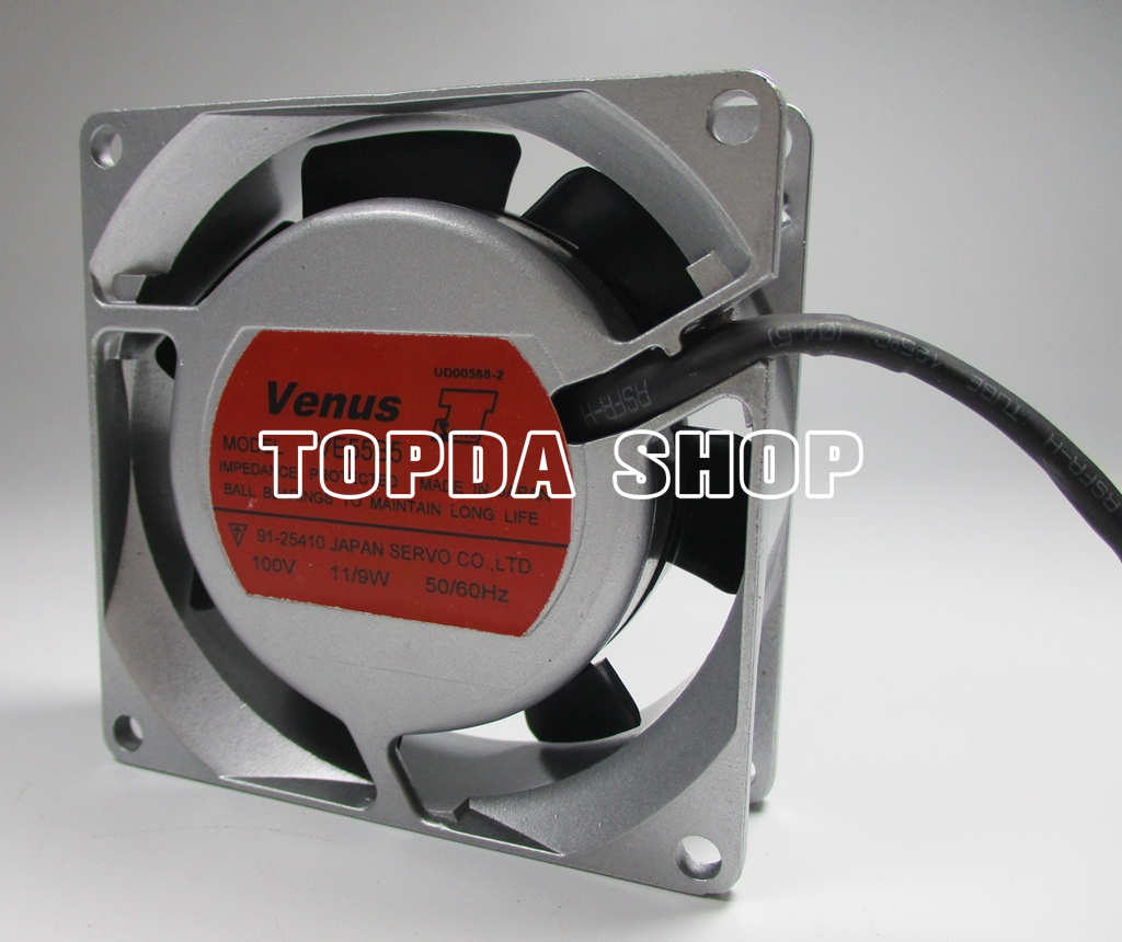 Cooling fan for SERVO VENUS 25  100V 11//9W VE55B5  0.13//0.11A