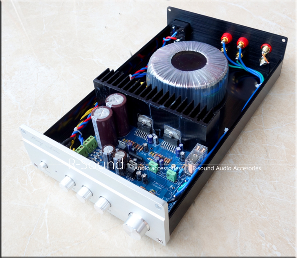 Hifi At100 Tda7293 Power Amp W Bass Midrange Treble Adjustment Pre Hi Fi Circuit 100wx2