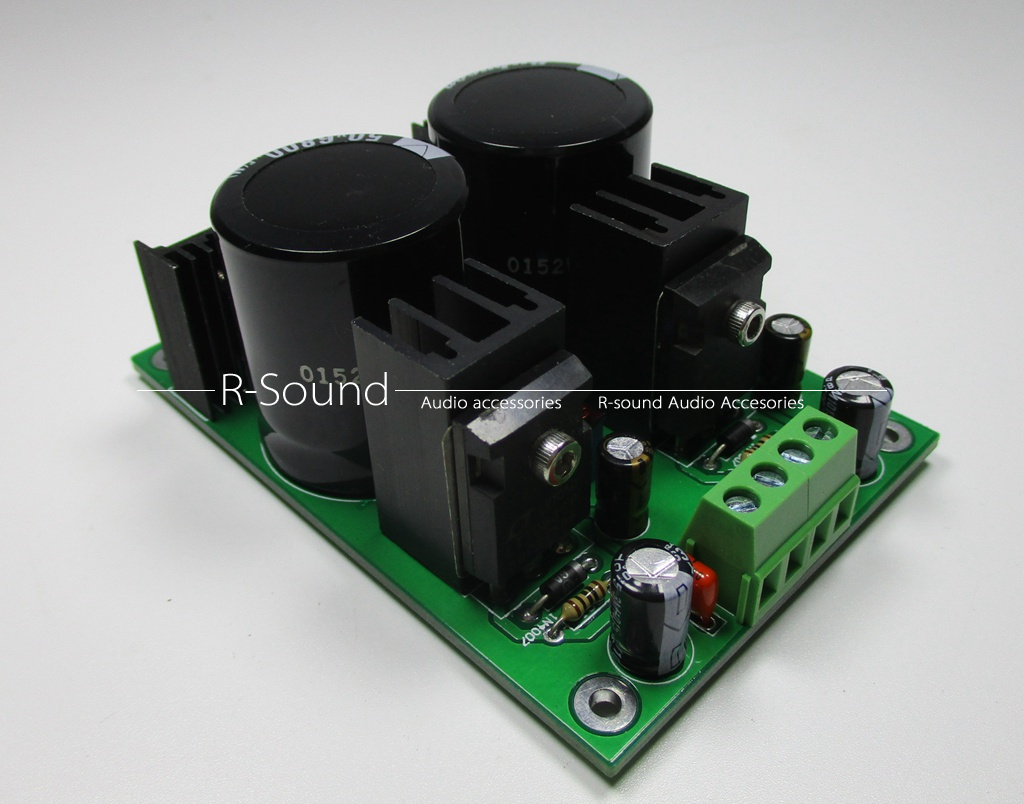 Lt1083cp Low Noise 75a Dual Rail Regulated Power Supply Assembled Circuit For Audio Board