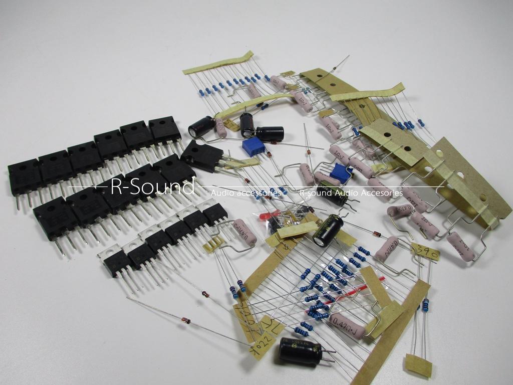 60w Pass A5 Single Ended Class A Power Amplifier Bulk Kit Board 2 B Audio 15w By Ne5532 Transistor Channel