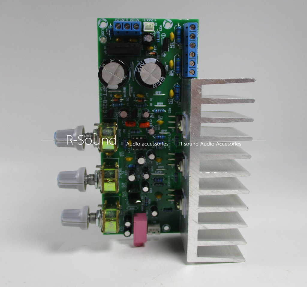 Tda2050 Tda2030 21 3channel Subwoofer Power Amplifier Board Audio Circuit Diagram Finished 60w