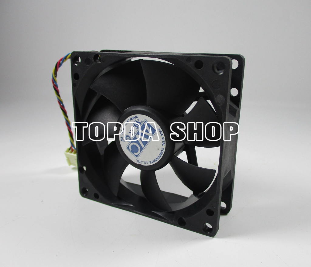 For YM DA08025B12UH DC12V 0.50A 80*80*25MM cooling fan #Shu62