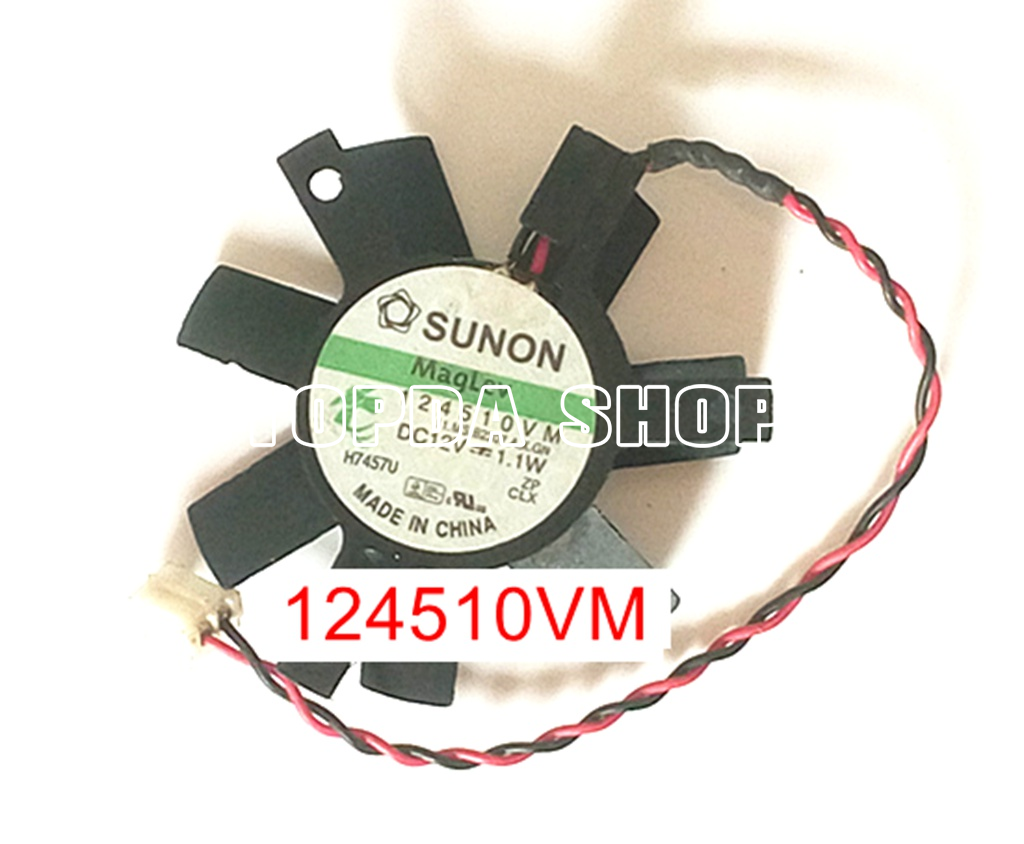 KD1205PFS3 DC12V 1.1W  For Sunon electric car charger fan 50*50*10mm