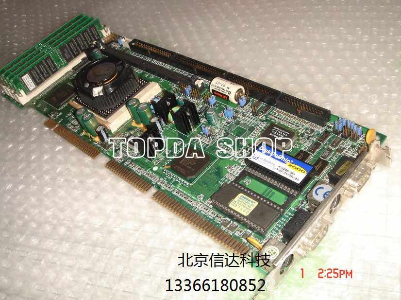 1pc Used IB740 industrial Mainboard with RAM and CPU DHL fedex ship