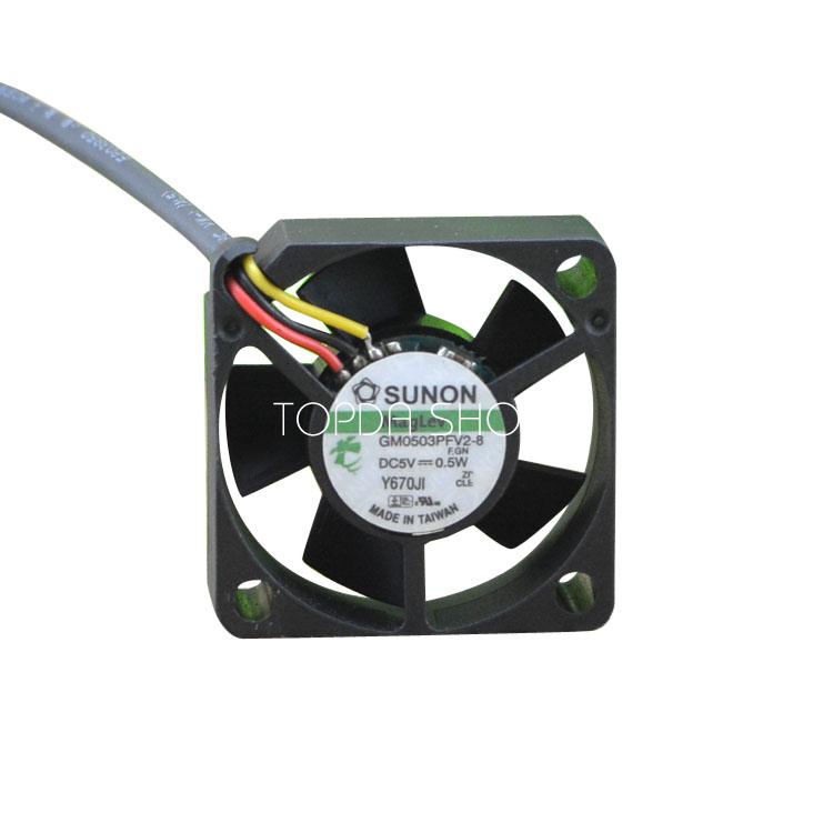 Sunon 30mm x 10mm MagLev Fan 5V DC 2 Pin Connector GM0503PFV2-8