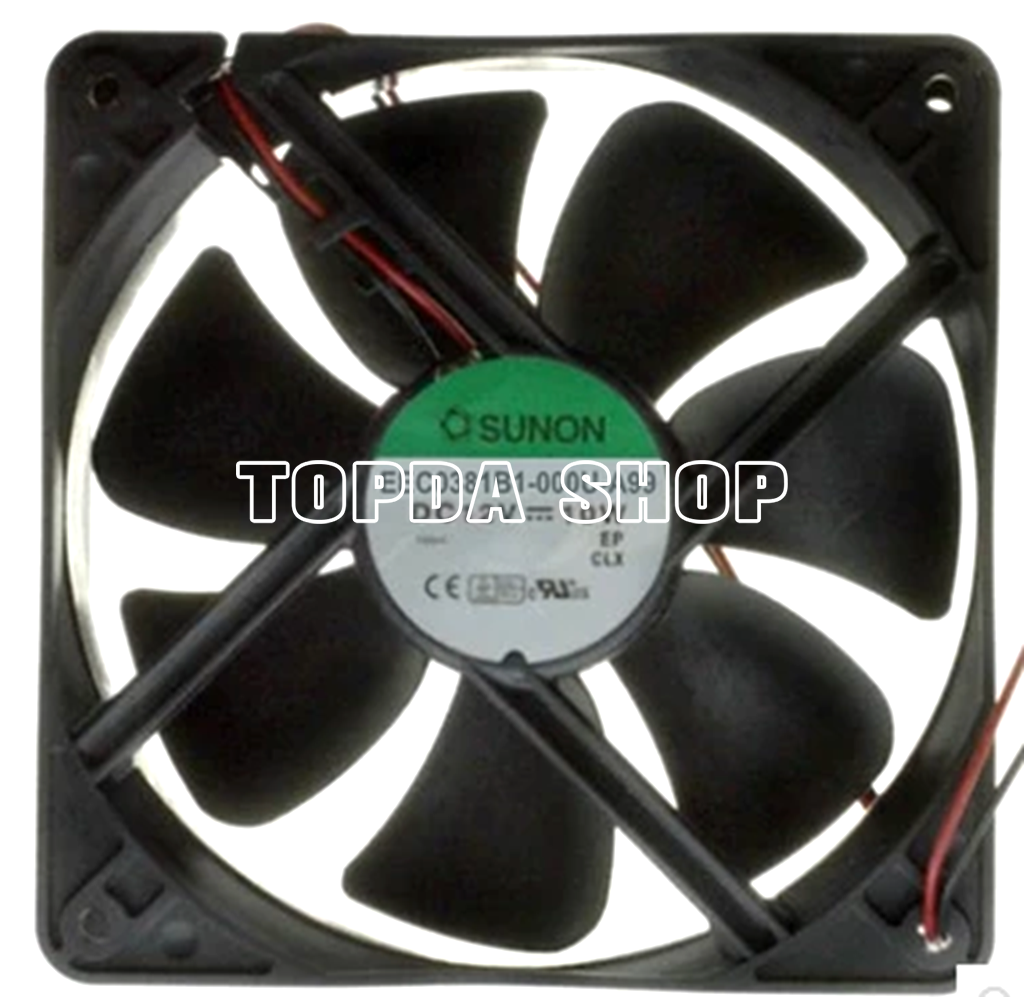 For 1pc SUNON EEC0381B1-000C-A99 Cooling fan 12V 10W 120*38mm