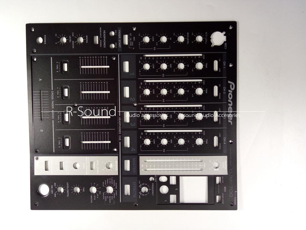 small panel for DJM800 DJ Mixer NEW pioneer Mixer front Panel medium panel