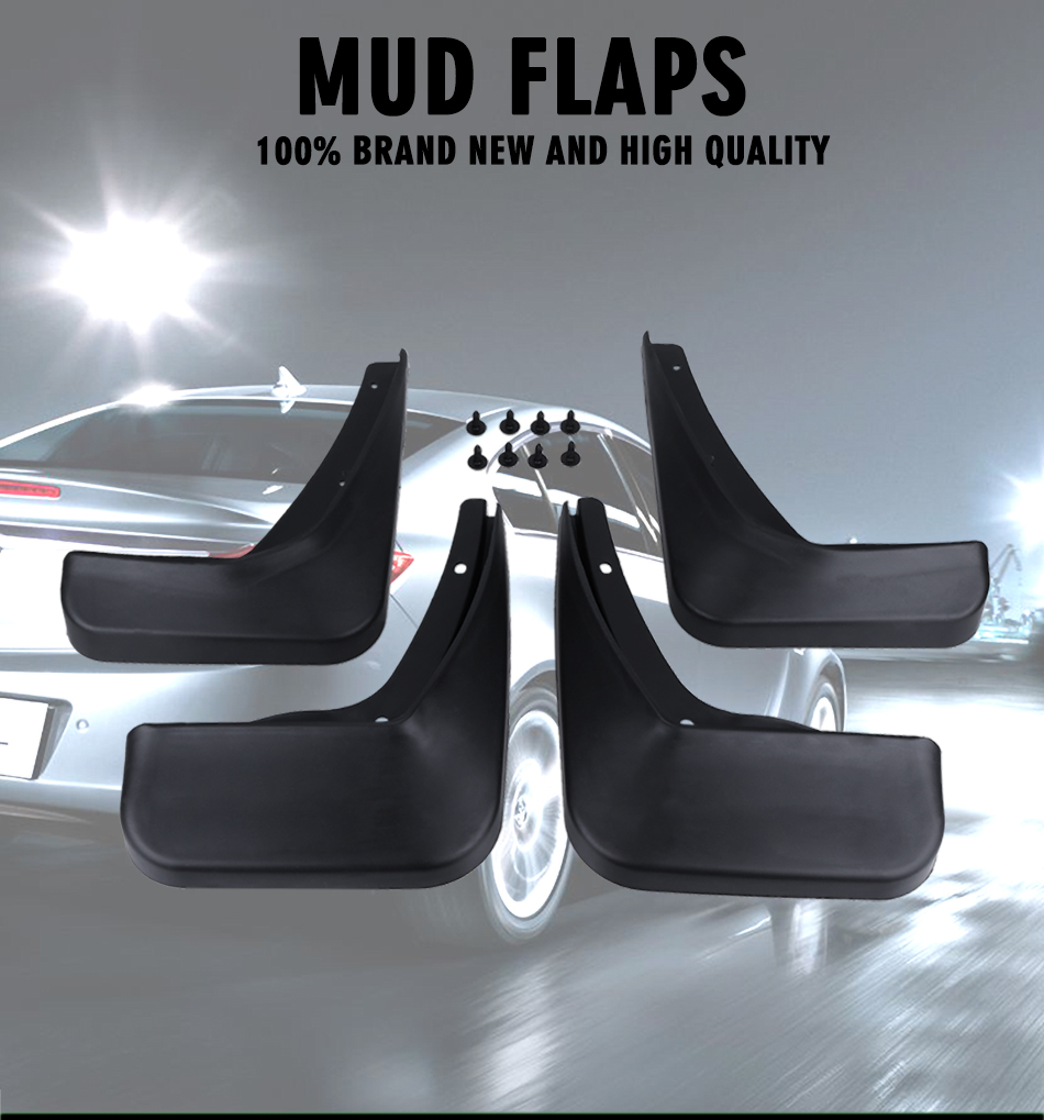 A-Premium Splash Guard Mud Flaps for Buick LaCrosse 2010-2016 Front and Rear 4-PC Set