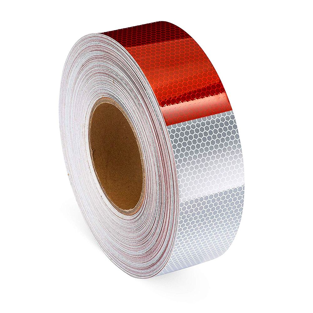 """WHITE  Reflective   Conspicuity  Tape 2/"""" x 25 feet DOT-C2"""