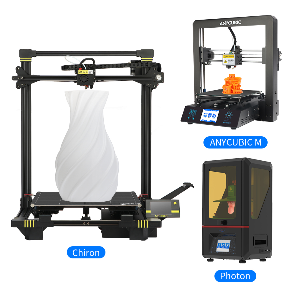 Anycubic 3D Printer Chiron//Photon//i3 MEGA//4MAX//Kossel High Precision DIY Kit US