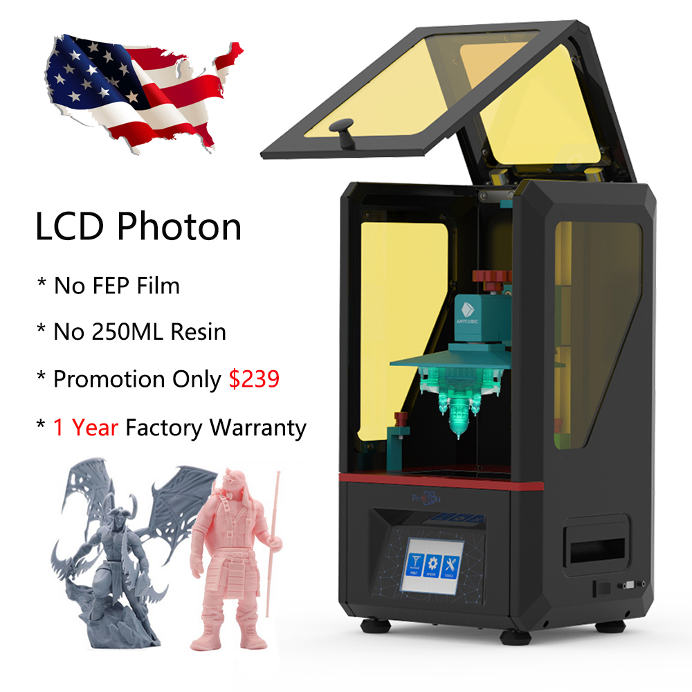 Details about ANYCUBIC LCD Photon Resin 3D Printer SLA UV Light-Cure 2 8