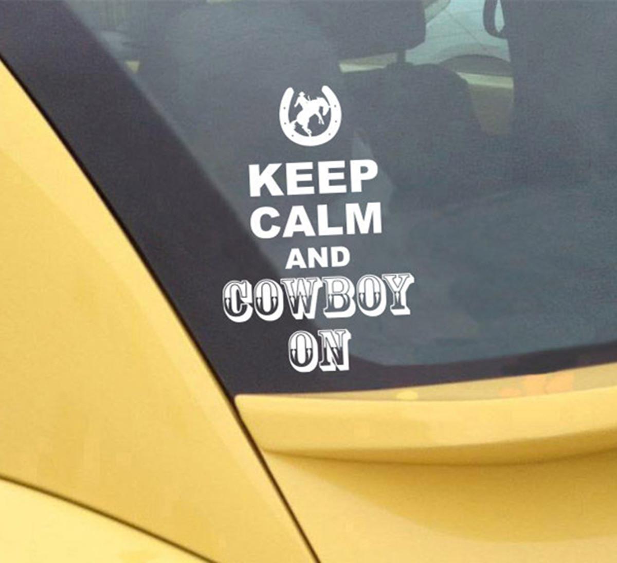 KEEP CALM Pattern Car Window Wall Bumper Vinyl Sticker Decal Decor ...