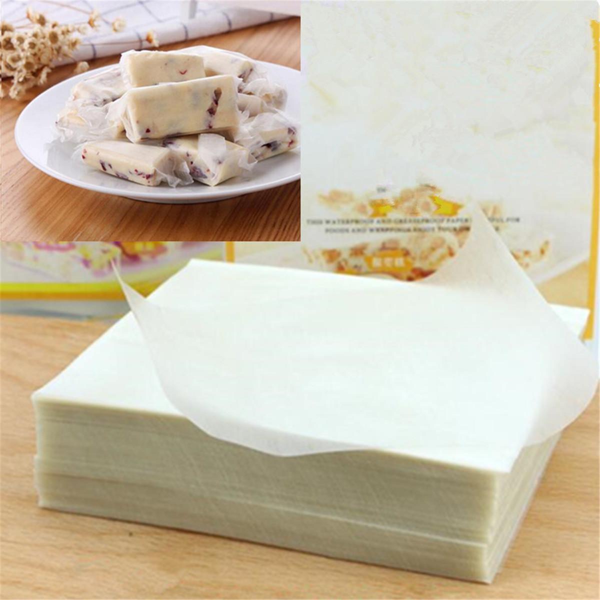 500 Sheets Edible Glutinous Rice Paper Xmas Wedding Candy