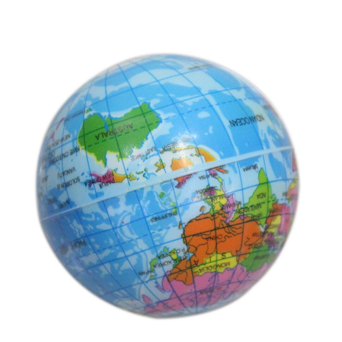 1pc mini funny world map pu earth globe stress bouncy ball geography 1pc mini funny world map pu earth globe stress bouncy ball geography toy 2 sizes gumiabroncs Choice Image
