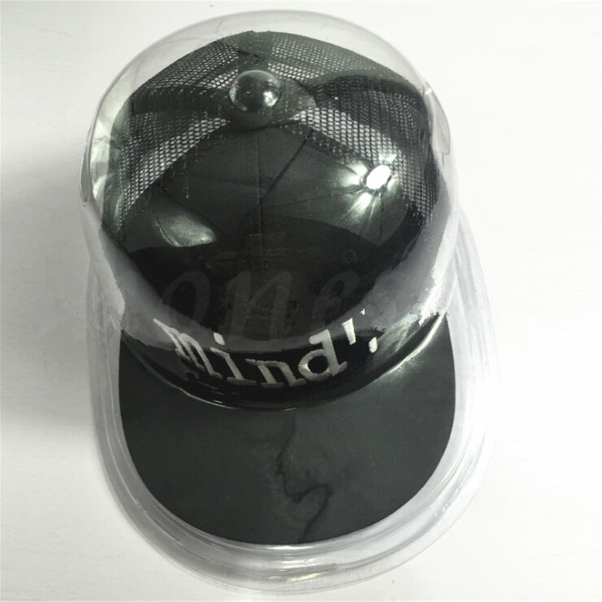 Plastic Clear Baseball Football Cap Dustproof Hat Display Case Holder  Protector