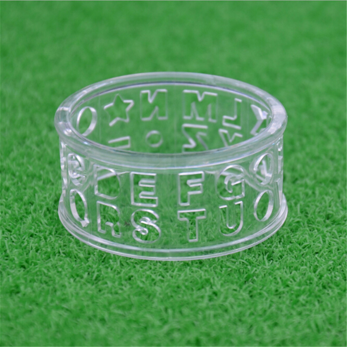 1pc Golf Ball Liner Marker Template Drawing Alignment Tool Plastic