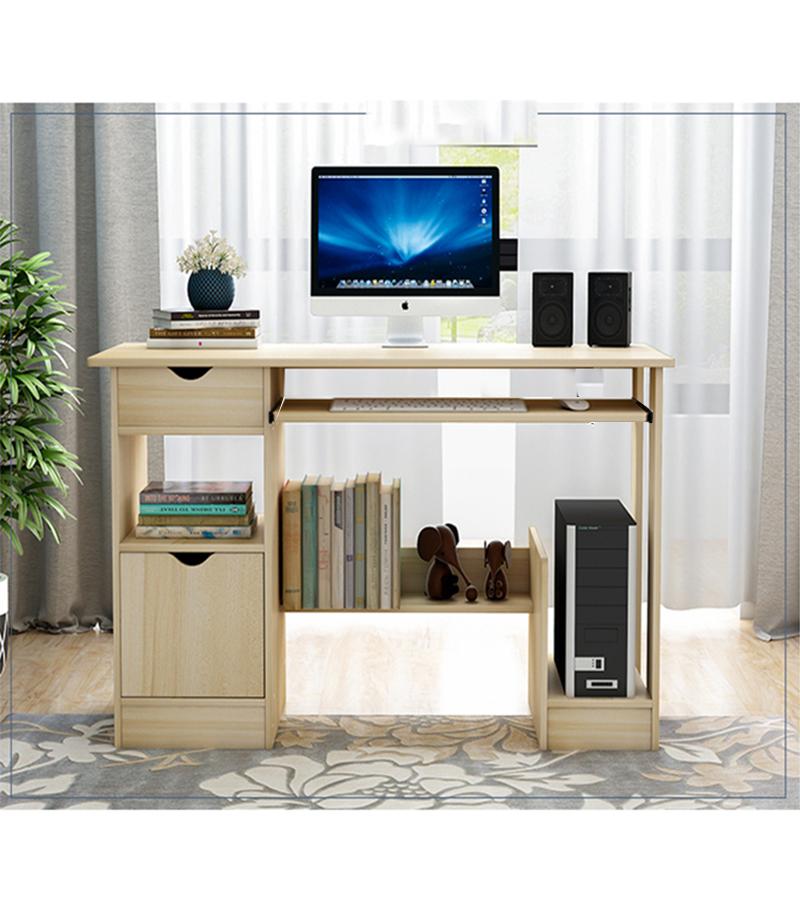 Corner Computer Desk Cube Book Shelves Laptop Tables PC