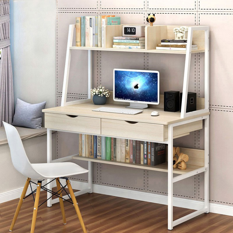 Corner Small Computer Desk Drawer Laptop Pc Table Home Office