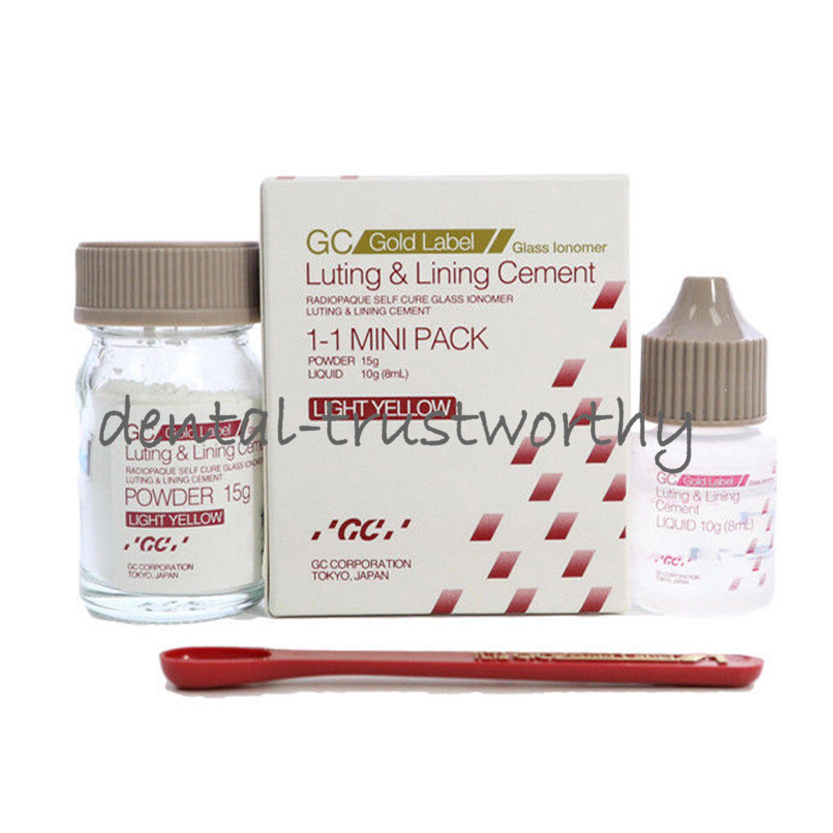 GC Fuji Gold Lable 1 Luting & Lining Glass Ionomer Dental