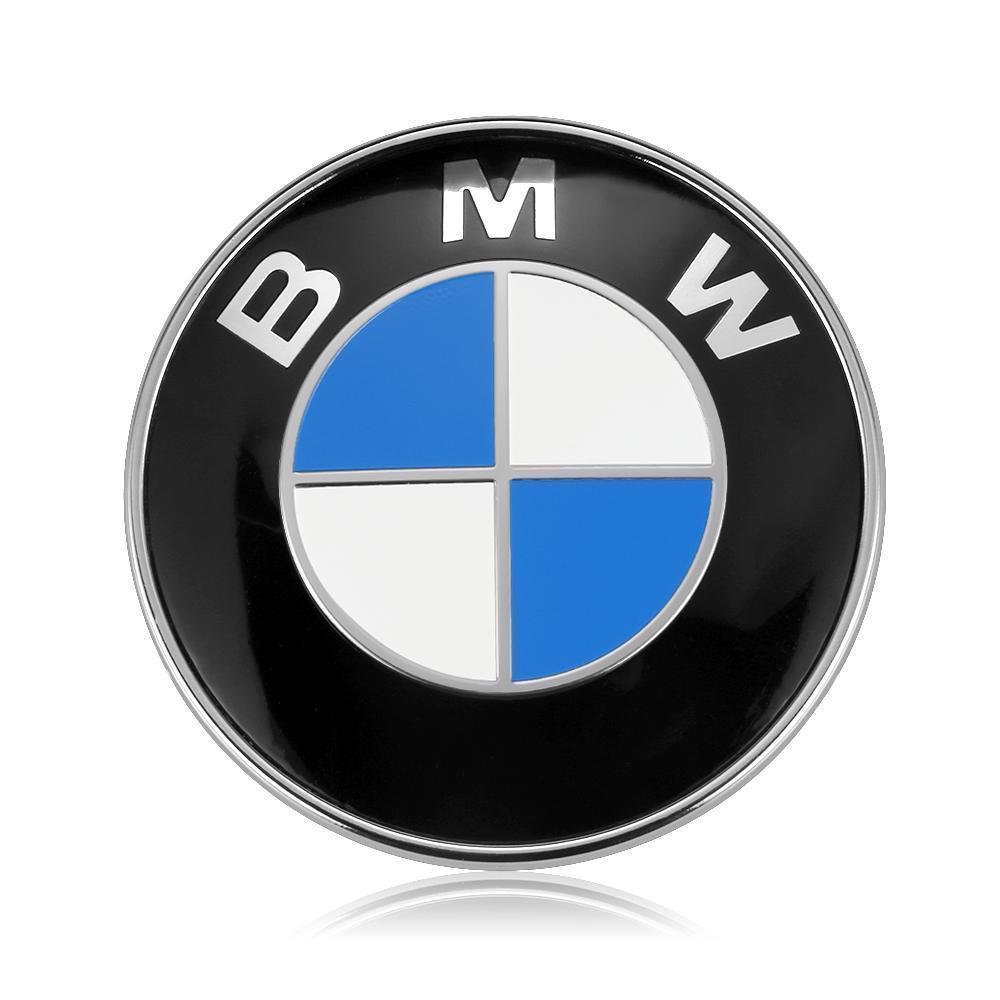 Bmw Emblem 82mm 2 Pin Front Hood Or Rear Truck Logo Badge