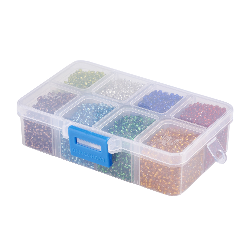 1Box-12-0-Glass-Seed-Beads-Ceylon-Round-Loose-Spacer-Beads-2mm-Mixed-Color thumbnail 17