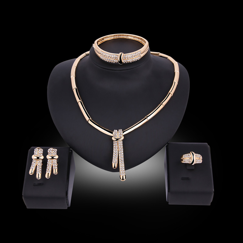 set plated necklace elegant exporter supplier manufacturer gold