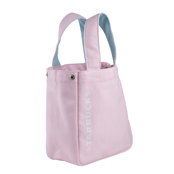 Limited Taiwan Starbucks 2019 Pinky Spring Siren Bag For Takeaway// Lunch Box New