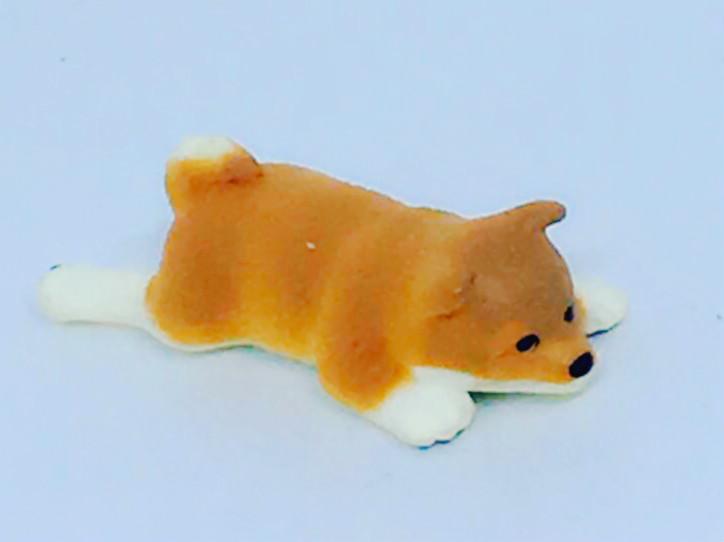 One Single Dog Optical Art Photo Playing Card JAPANESE SHIBA INU Puppy Artlist