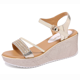 Womens Ankle Strap Shoes Open Toe Sandals Platform