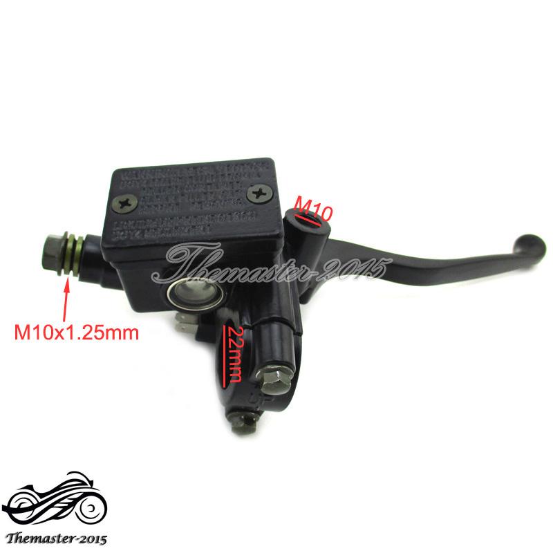 Front Hydraulic Brake Master Cylinder For Honda CM450 CM400 CM250 Motor Bike