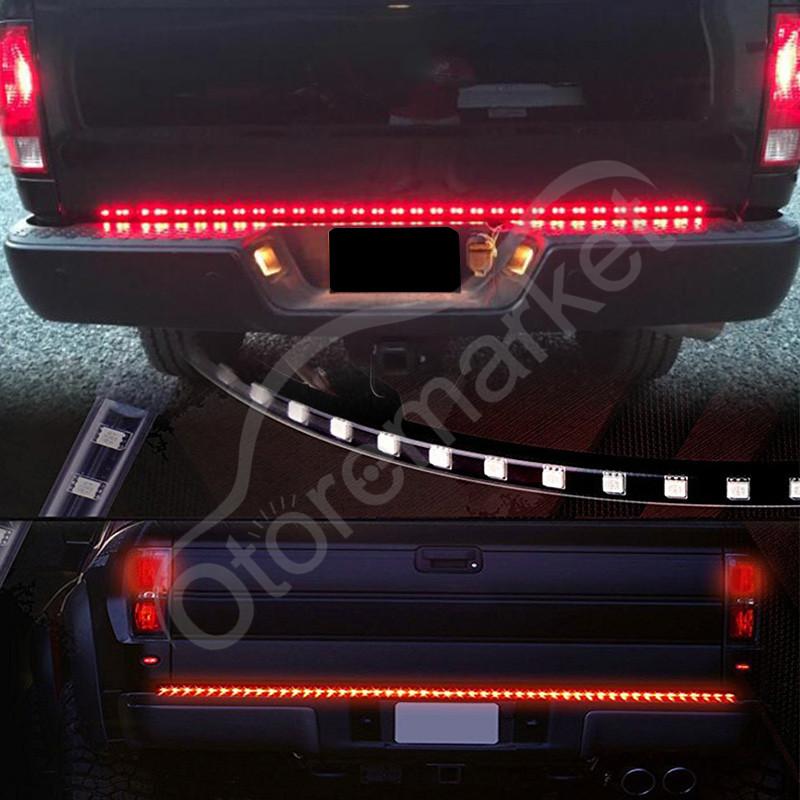 Rear Led  Tailgate Light Strip Bar For Ford F  F F Hd Pickup Trucks