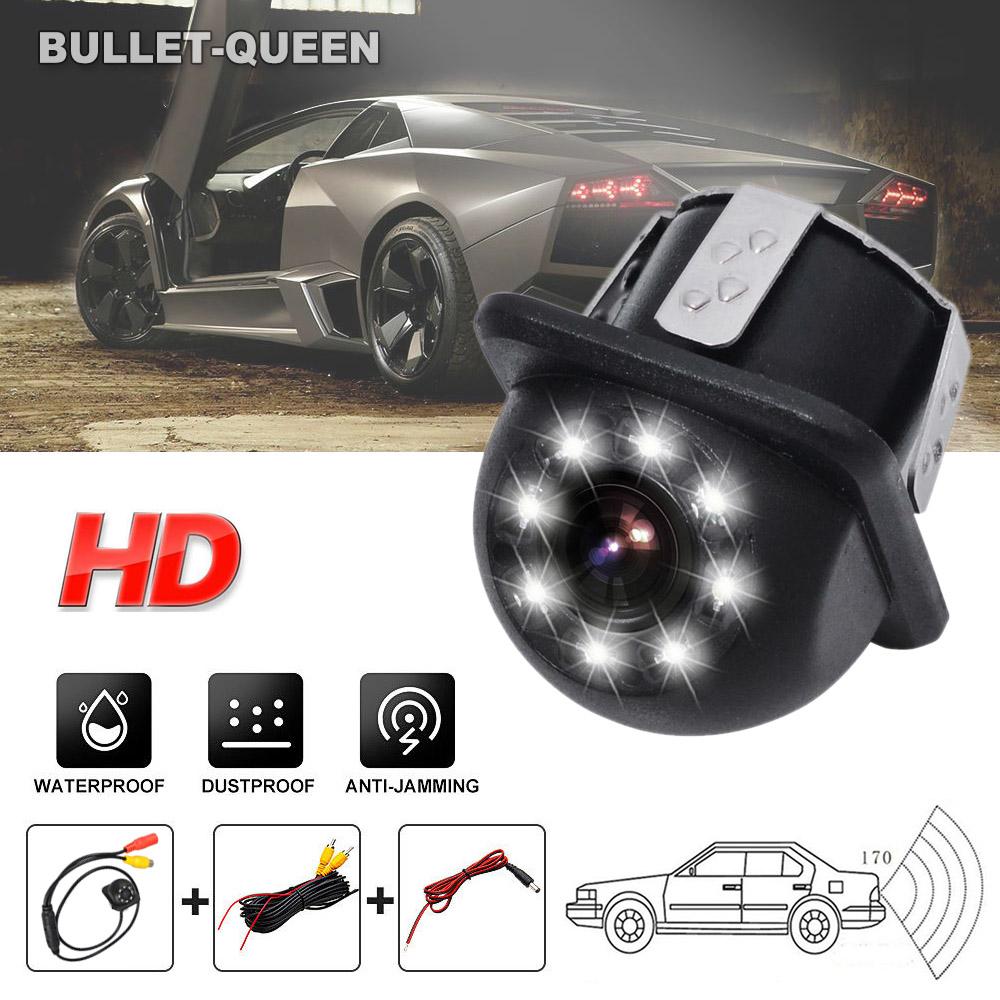 Waterproof Auto Night Vision HD CCD Rear View Reverse Backup Car Parking Camera