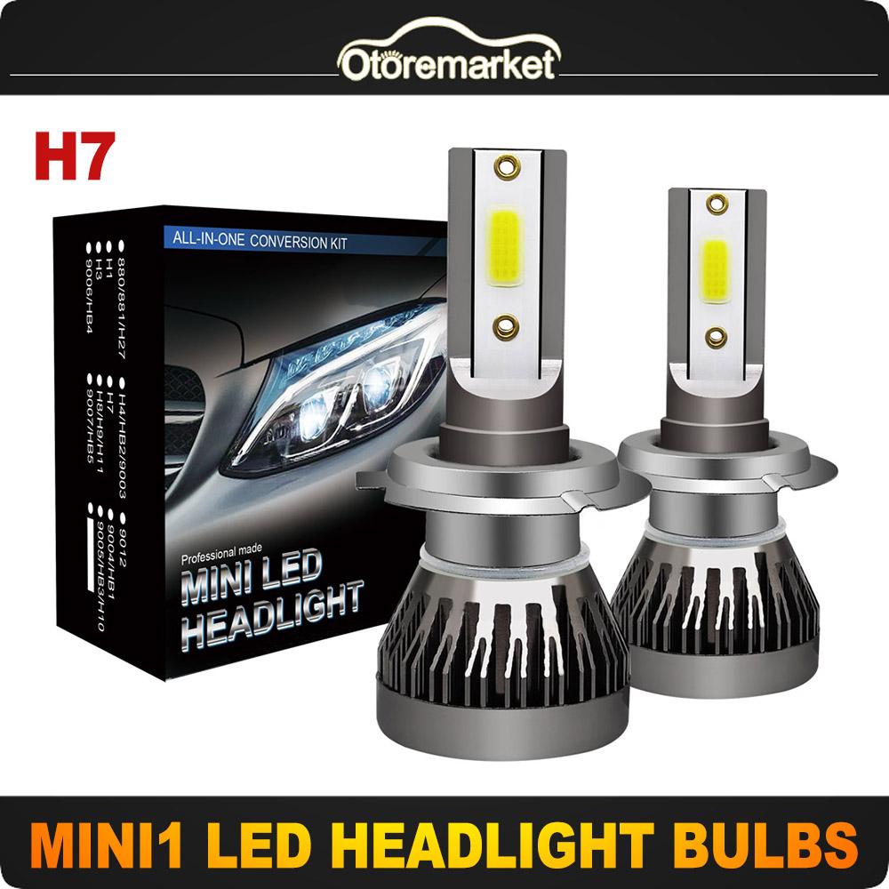 SET H7  halogen lamp  XENON LIGHT BULBS ALFA ROMEO MITO HATCH 2009